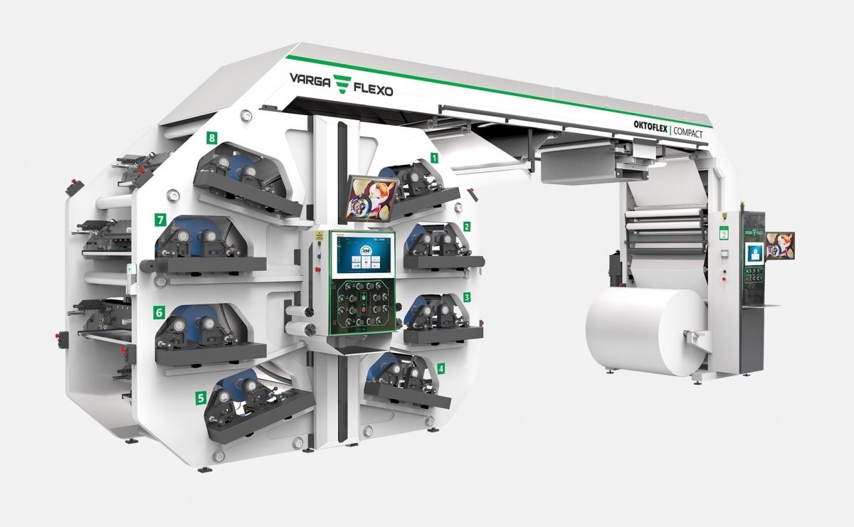 Flexonyomógépek, tekercsvágók, laminálók gyártása | Flexo printing unit